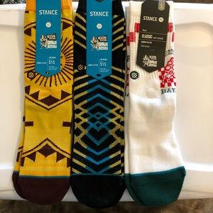 Stance bundle, NWT youth size L (2-5.5)